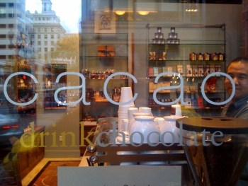 Cacao Portland Heathman Location