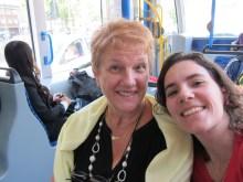 Mamani no Tram... A caminho de Amsterdam :)
