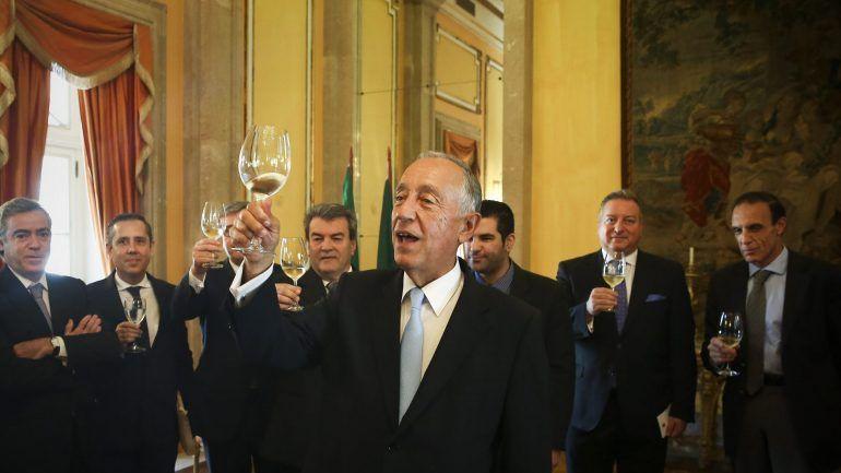 """Marcelo Rebelo de Sousa defende uma Comunidade de Países de Língua Portuguesa """"mais económica"""" e desafiou o Brasil a assumir a liderança, dizendo que se trata de um """"instrumento diplomático poderoso"""" - Foto: MÁRIO CRUZ/LUSA"""