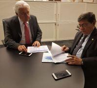 George Pinheiro e Afif Domingos discutem repercussão de estudo divulgado pelas entidades