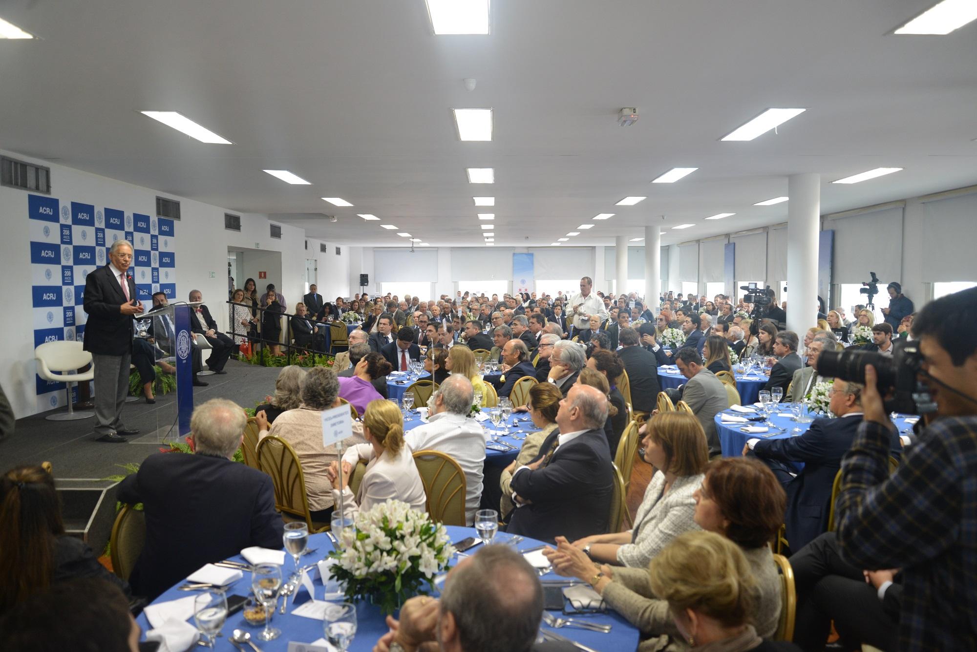 Fernando Henrique Cardoso FCH na ACRJ CACB