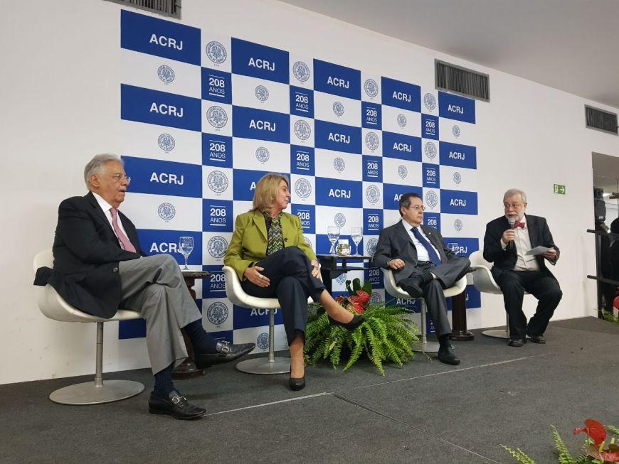 FHC na ACRJ CACB George Pinheiro