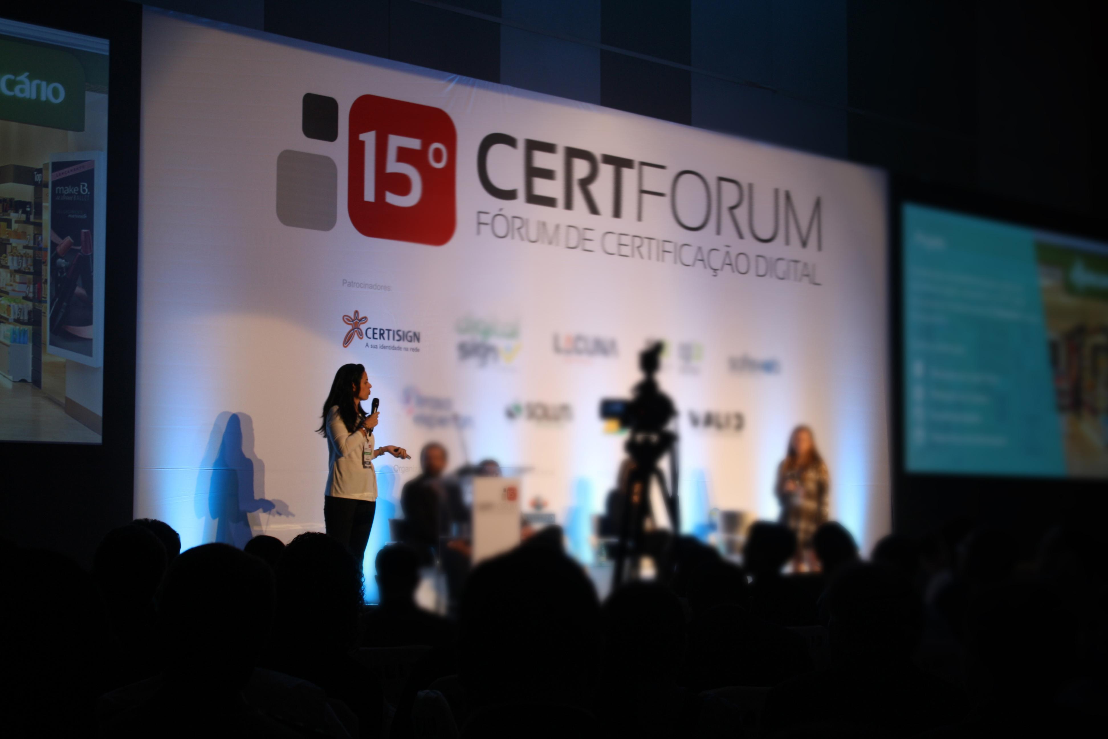 CACB participa do 15º Fórum de Certificação Digital