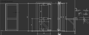 door cad file