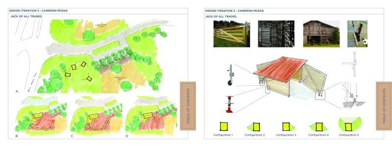 Individual Design Iterations - Cameron