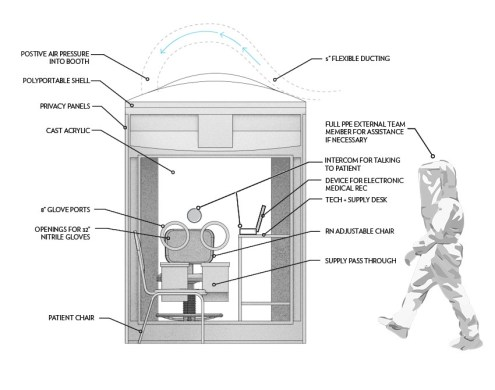 booth elevation