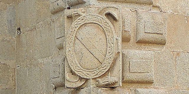 Cáceres escudo de Carvajal