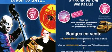 Jazz à Roncq nuit bleue 2013