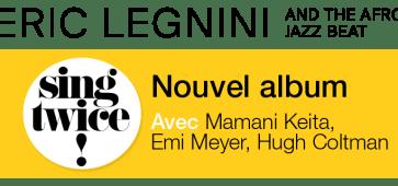 Eric Legnini swing twice victoire_de_la_musique_2013
