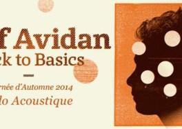 Asaf Avidan tournée solo acoustique back to basics solo 2014 roubaix