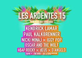 Les Ardentes 2015 festival liège Belgique LesArdentes2015 horaires cacestculte