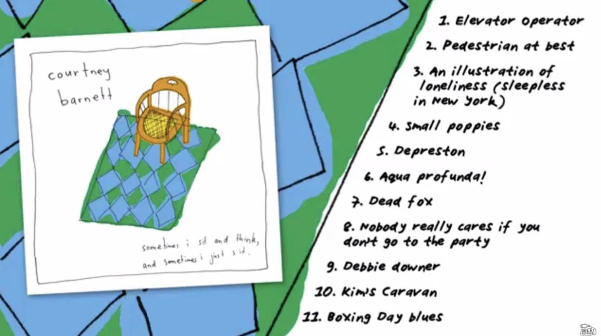 Courtney Barnett, Sometimes I Sit and Think and Sometimes I Just Sit cacestculte