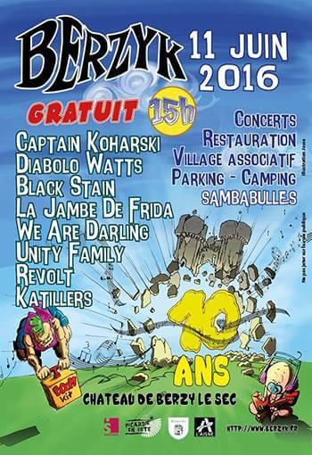 Festival Berzyk 2016