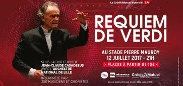 Requiem de Verdi Jean-Claude Casadesus ONL Pierre Mauroy
