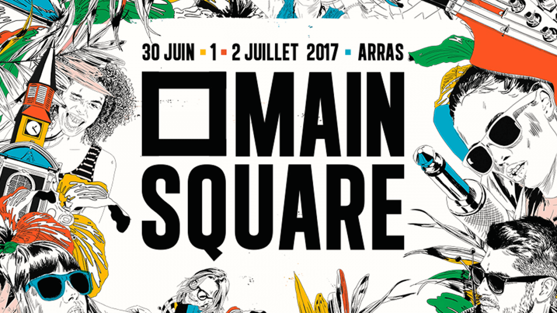 main square festival 2017 citadelle arras major lazer