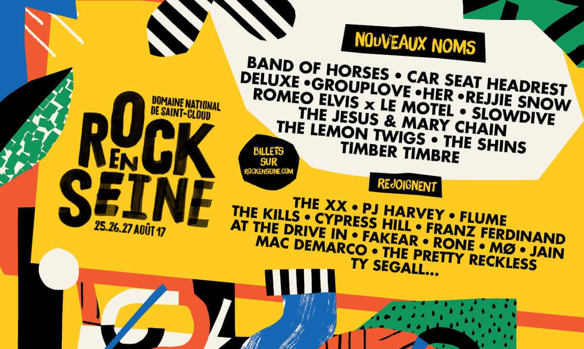Rock en Seine 2017 festival saint caloud paris ça c'est culte