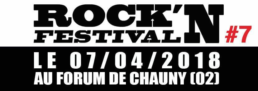 Rock'Aisne festival édition du 7 avril 2018