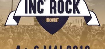 INC'ROCK BW festival à Incourt les 4,5 et 6 mai 2018