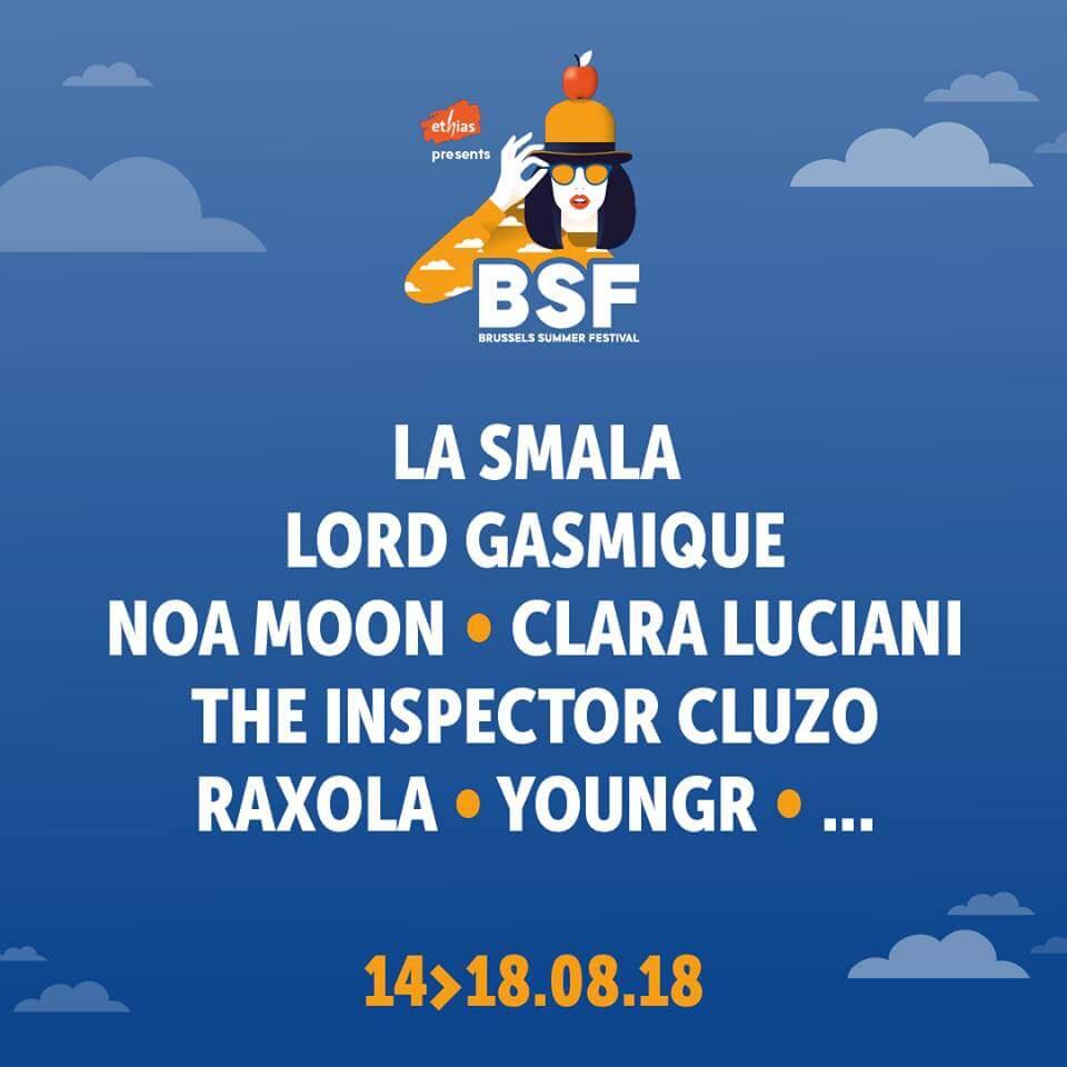 Brussels Summer Festival 2018 cacestculte belge brussels summer festival 2018 cacestculte