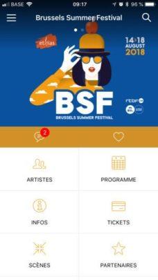 application brussels summer festival 2018 cacestculte