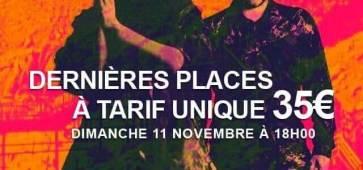 Morcheeba au Colisée de Roubaix, le 11 novembre 2018 # dernières places # cacestculte