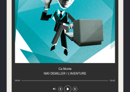 "NIKI DEMILLER avec la sortie de L'EP ""l'Aventure"" ça c'est culte cacestculte"