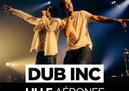 Dub Inc en concert à L'Aéronef de Lille le vendredi 6 décembre 2019 cacestculte