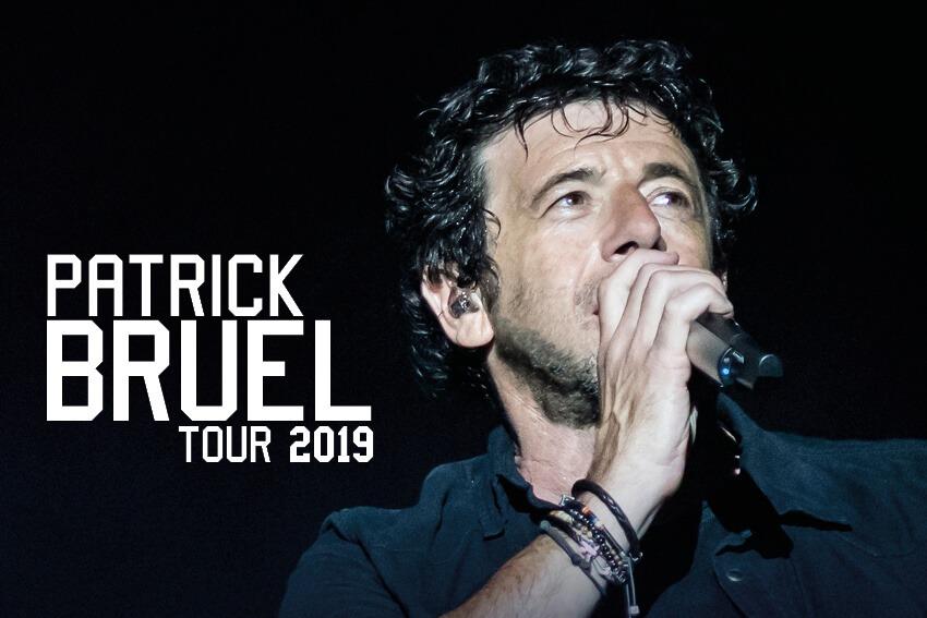 PATRICK BRUEL TOUR 2019 à Lille, Dunkerque et Douai