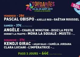 Les Solidarités 2019 : pass promotionnels complets ! Nouveau tarif et tickets une journée cacestculte