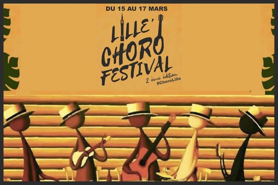 L'Association AÇAÍ présente Lille Choro Festival #2 15, 16 et 17 mars 2019 à Lille