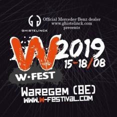 W-Fest 2019 à Waregem du 15 août au 18 août (Belgique)