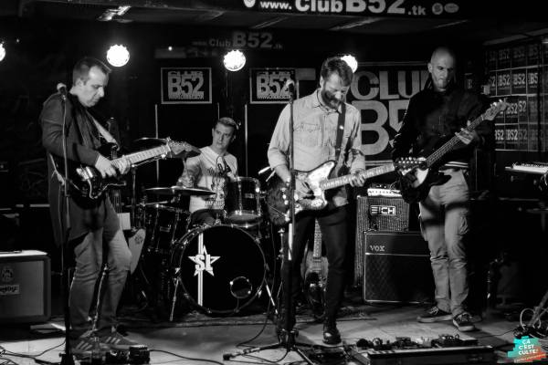BLACKPAPERPLANE + TROUBLE FAIT' + LEDING au B52 music club ©Art'Box photographies