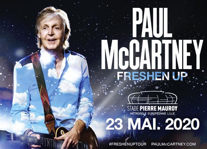 Paul McCartney au Stade Pierre Mauroy The FRESHEN UP Tour 2020