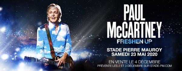 Paul McCartney au Stade Pierre Mauroy : The FRESHEN UP Tour 2020