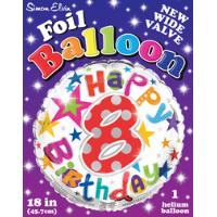 Birthday Age Balloons