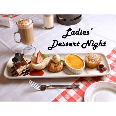 Image result for ladies dessert night
