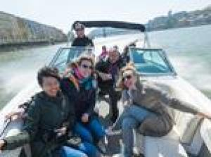 Speedboat Ride on the Danube River in Budapest
