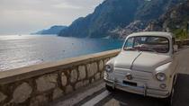 Excursão particular: Costa de Amalfi de Fiat 500 ou Fiat 600 vintage saindo de Sorrento,...