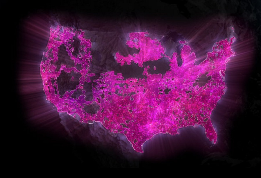 T Mobile Enables Band 12 In More Locations For Improved Network     T Mobile Coverage Map