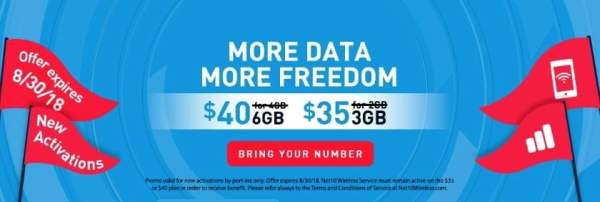 NET10 Giving Away 50% More Data For Life To New ...