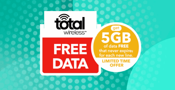 Total Wireless Giving Away 5GB Of Free Data To New Lines ...