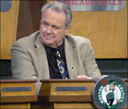 tommy heinsohn on draft lottery night