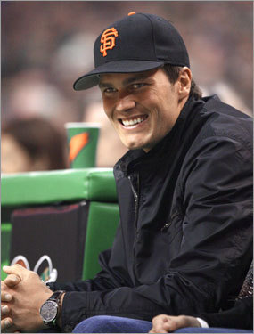 Image result for tom brady sf giants