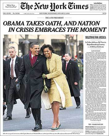 Newspaper headlines from around the world. Next · Previous. The New York
