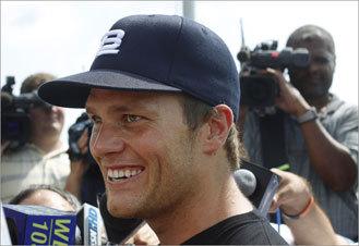 Brady: 'I'm ready'
