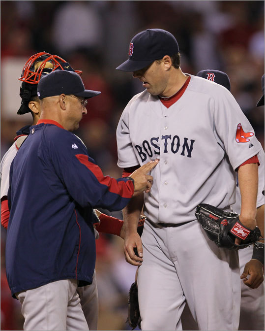 since  leaving the team he played eight seasons for in 2002-2009, and was  greeted by a chorus of boos from the crowd in Anaheim. Lackey earned his  10th win of the season after going 7 1/3 innings, allowing two runs and  scattering seven hits.
