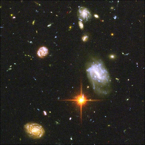 Hubble Ultradeep Field