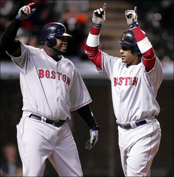 Ortiz and Manny were the most feared tandem in baseball for years.