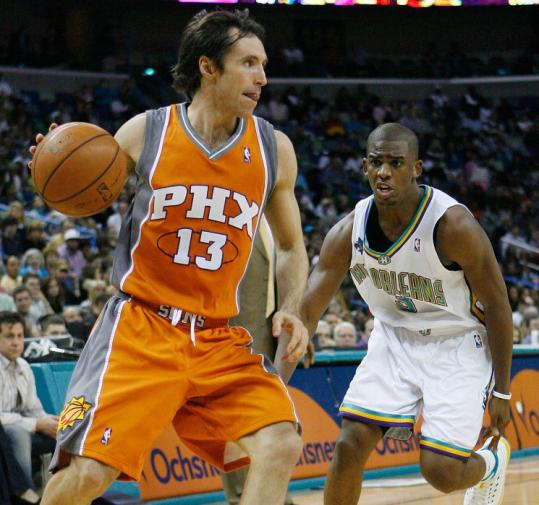 2 time MVP Steve Nash.  The hair is starting to thin