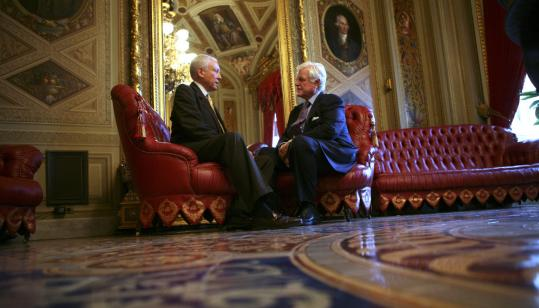 Image result for PHOTO OF ORRIN HATCH AND EDWARD KENNEDY